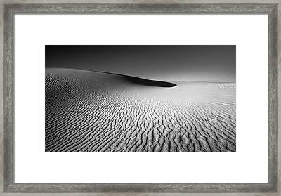 White Sands Framed Print