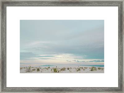 White Sands National Park Framed Print