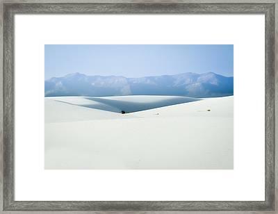 White Sands, New Mexico Framed Print
