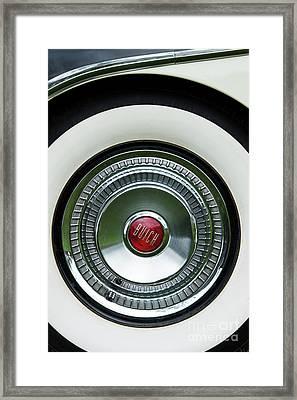 White Sidewall Framed Print by Tim Gainey