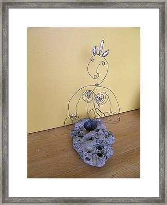 White Tara Framed Print by Live Wire Spirit