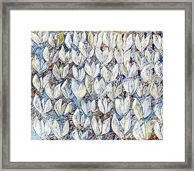White Tulips Framed Print by Joan De Bot