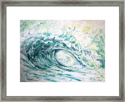 White Wash Framed Print by William Love