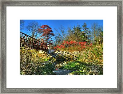 White Water State Park 2 Framed Print