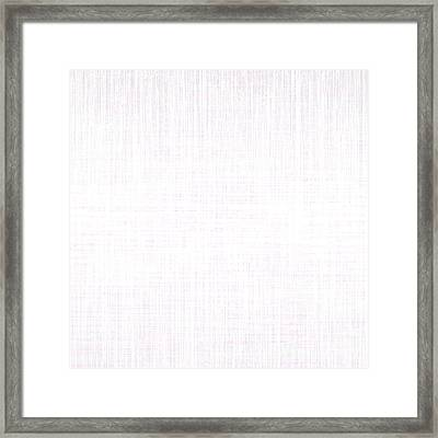 White.13 Framed Print by Gareth Lewis