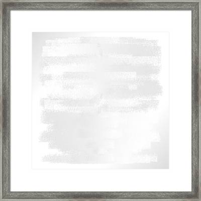 White.43 Framed Print by Gareth Lewis