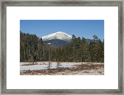 Whiteface Mountain In The Adirondacks Of Upstate New York Framed Print by Brendan Reals