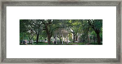 Whitefield Square Historic District Framed Print by Panoramic Images