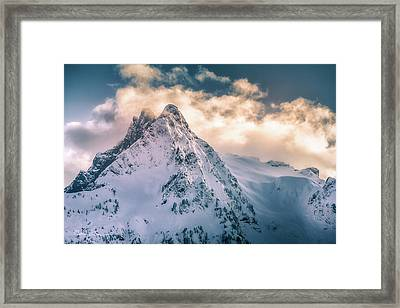 Whitehorse Clouds Framed Print