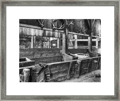Whitehorse Ranch 2 Framed Print by Ron Schwager