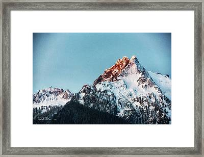Whitehorse Sunrise Framed Print
