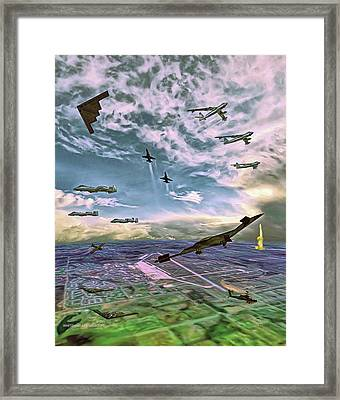 Whiteman Air Force Base Framed Print by Dave Luebbert