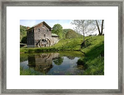 White's Mill Framed Print by Alan Lenk