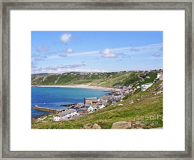 Whitesand Bay Cornwall Framed Print by Terri Waters