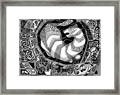 Whitetiger  Framed Print
