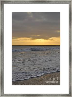 Whitewash Framed Print