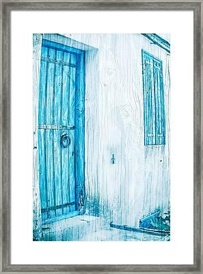 Whitewashed Framed Print