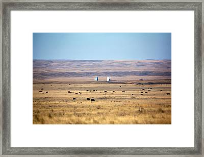 Whitewater Skyline Framed Print by Todd Klassy
