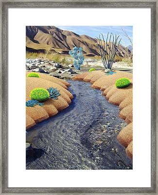 Whitewater Framed Print by Snake Jagger