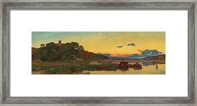 Whitlingham Norfolk Framed Print