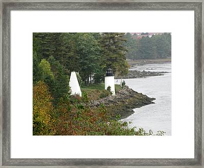 Whitlock Mill Lighthouse Framed Print