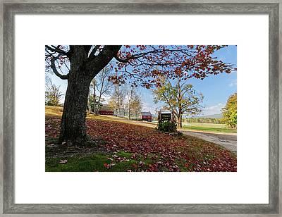 Whitney Farm Framed Print by Brett Pelletier