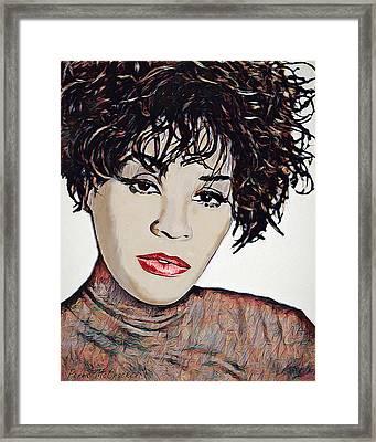 Whitney Framed Print