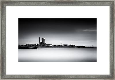 Whitstable Bay Framed Print by Ian Hufton
