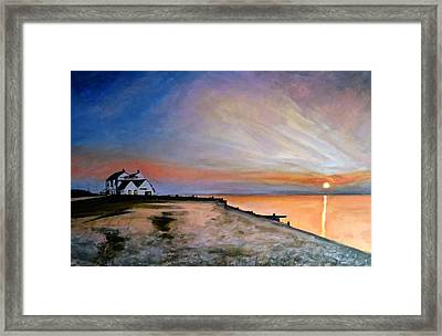 Whitstable Old Neptune Framed Print by Paul Mitchell