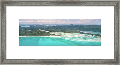 Framed Print featuring the photograph Whitsunday Wonders by Az Jackson