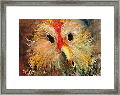 Whizzer Framed Print by Sally Seago
