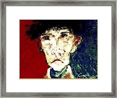 Who Am I   1b Framed Print by Teodoro De La Santa