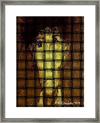 Who Am I   Series 3  Framed Print by Teodoro De La Santa
