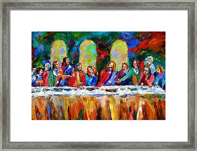 Who Among Us Framed Print by Debra Hurd