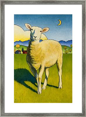 Who Are Ewe Framed Print