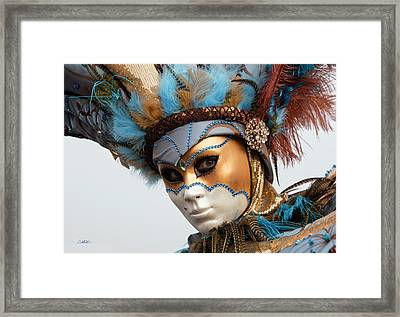 Framed Print featuring the photograph Who Are You? by Cheryl Strahl