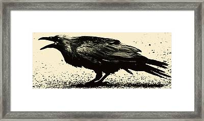 Who Calling Framed Print by Jerry Cordeiro