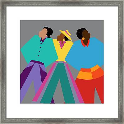 Who Dat Say Framed Print