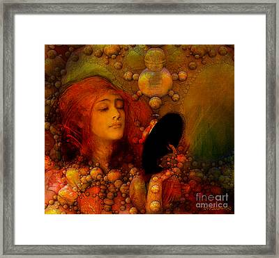 Who Is Fairest Of Them All Framed Print