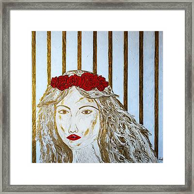 Who Is She? Framed Print