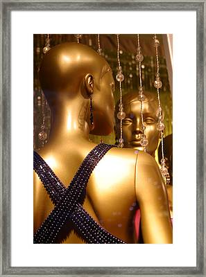 Who Is The Fairest Framed Print by Jez C Self