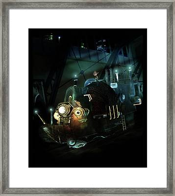 Who Knew Part Two Framed Print by Mary Hood