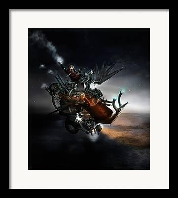 Creation Framed Prints