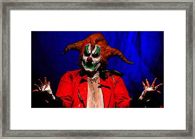 Who Me Framed Print by David Lee Thompson