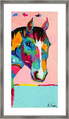 Who Me? Framed Print by Tracy Miller