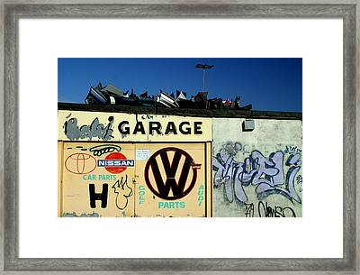 Who Spares Anymore Framed Print by Jez C Self