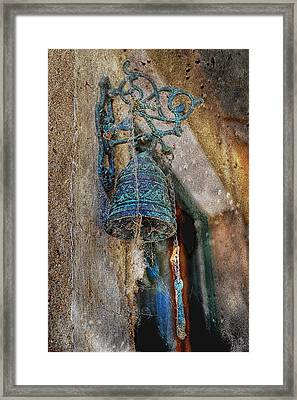 Who Tolls The Bell Framed Print