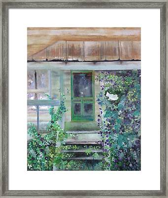 Who Will Watch The Homeplace? Framed Print