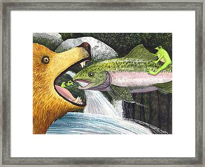 Whoa Nellie Framed Print by Catherine G McElroy