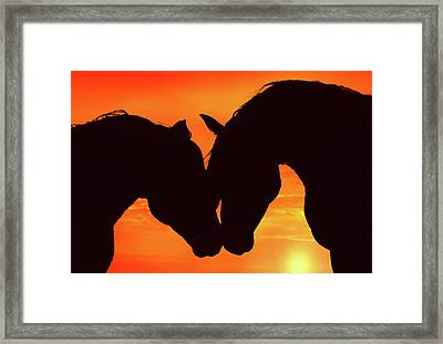 Wholeheartedly Framed Print